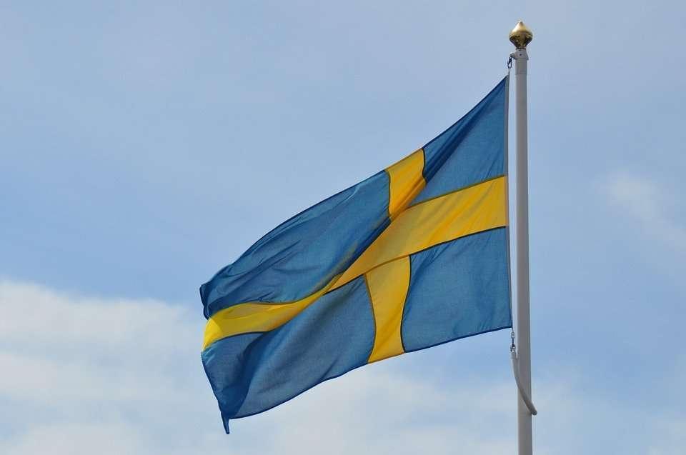 Qual è la bandiera della Svezia